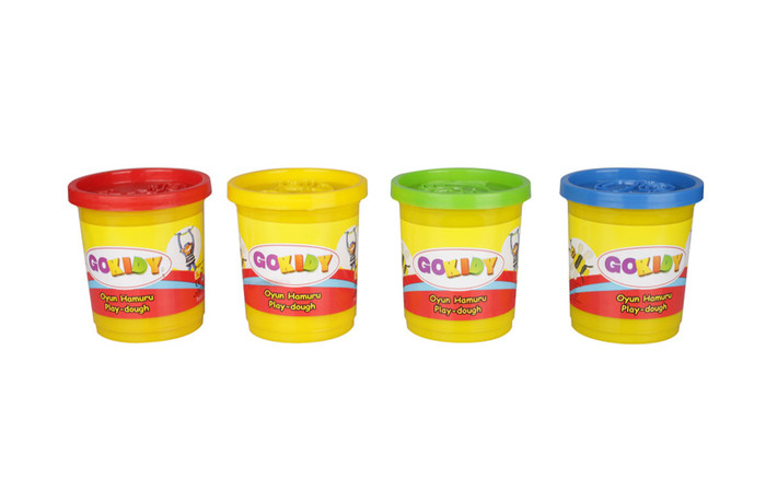 GOKIDY - 4 lü Mini Oyun Hamuru