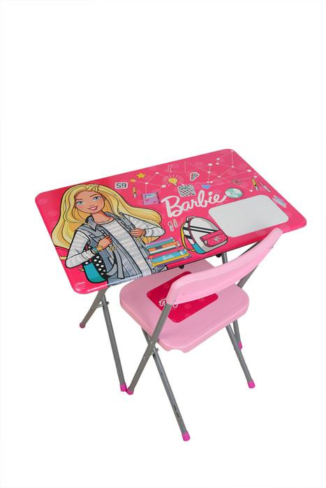 GOKIDY - Barbie Çalışma Masası ve Sandalyesi