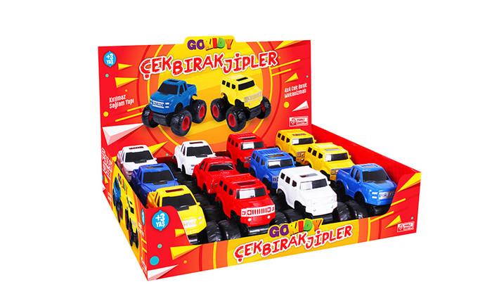 GOKIDY - Çekbırak 4x4 Jeep