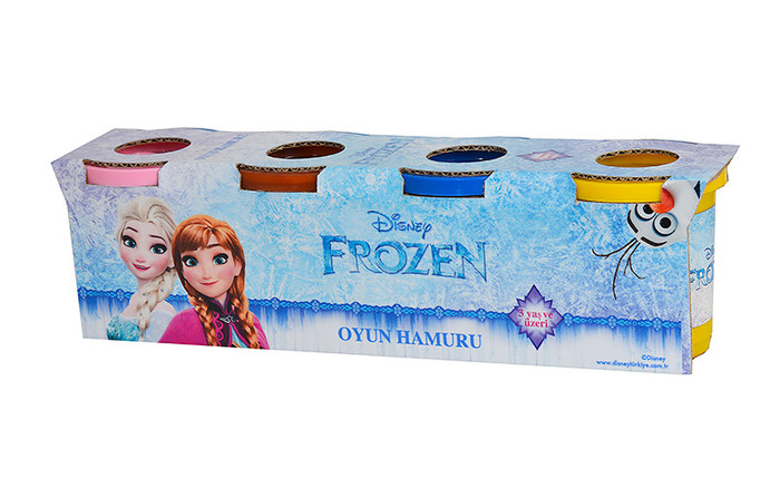 GOKIDY - Frozen 4 lü Oyun Hamuru