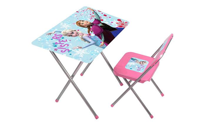 GOKIDY - Frozen Çalışma Masası ve Sandalyesi