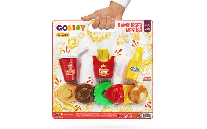 GOKIDY - Hamburger Seti Kartelalı