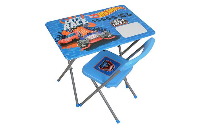 HOTWHEELS - Hotwheels Çalışma Masası ve Sandalyesi