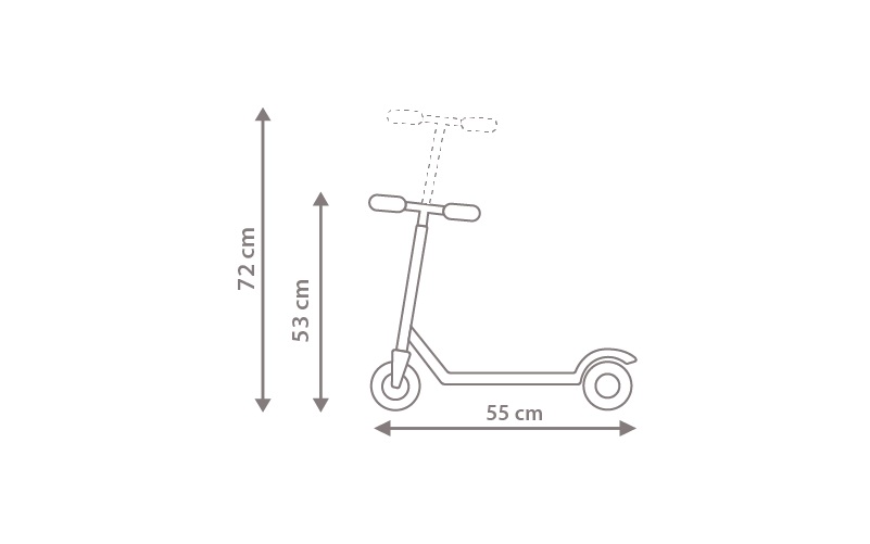ROOKİE Mini Scooter